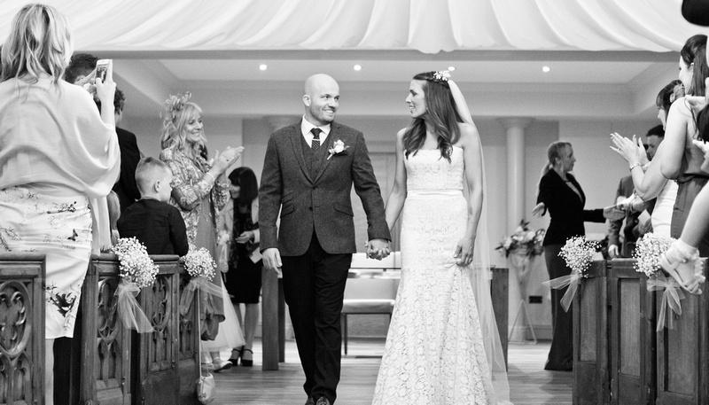 Rochford Hotel wedding photography | Bride & Groom