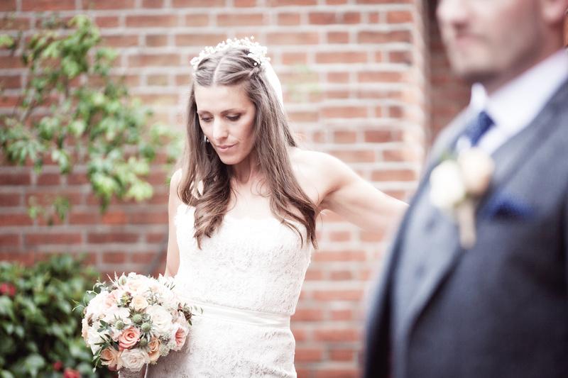 Rochford Hotel wedding photography | Stunning Bride & Groom portrait
