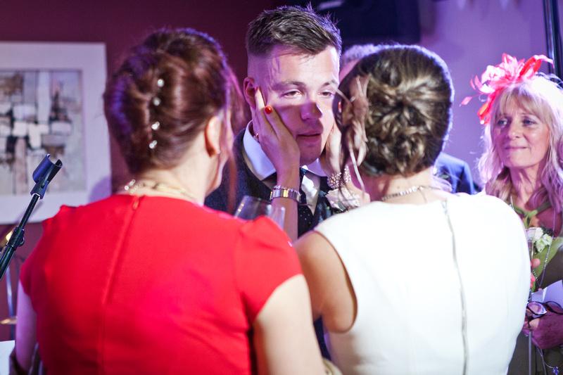 Emotional Wedding speeches | The Rochford Hotel wedding photography