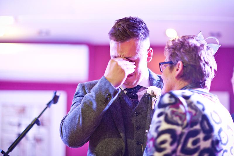 Emotional Best man speech | The Rochford Hotel wedding photography | Essex