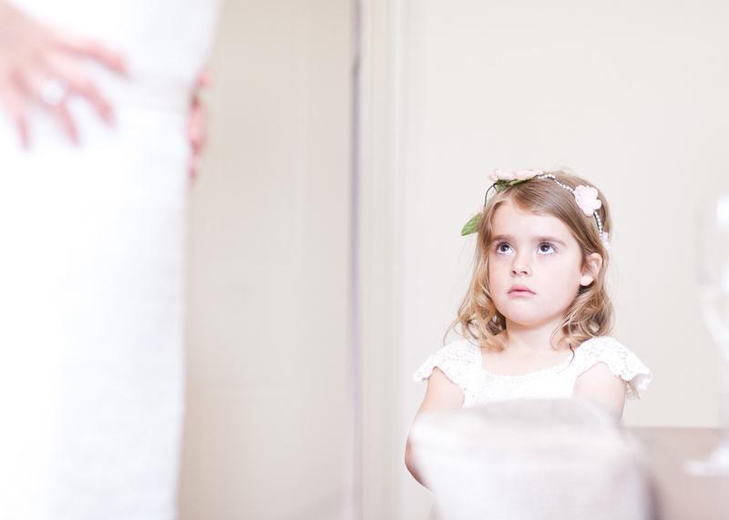 Rochford Hotel wedding photography | Cute bridesmaid