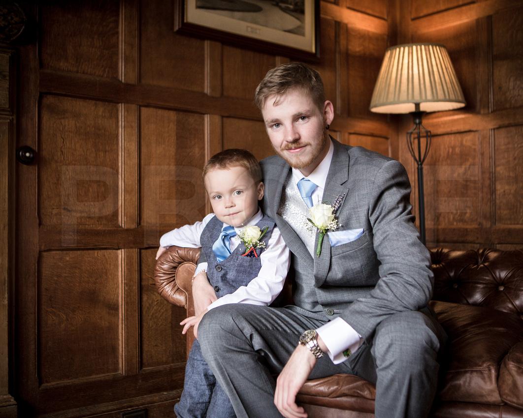 Leez Priory wedding - the groom photos 194