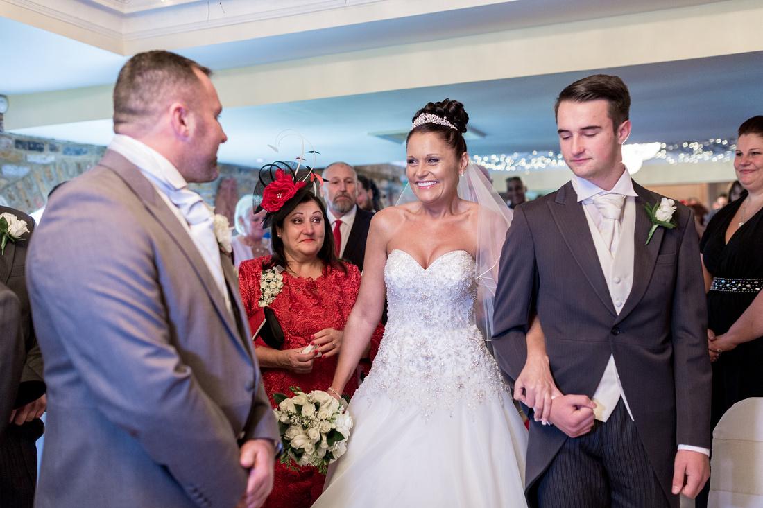 Friern Manor wedding photos - ceremony