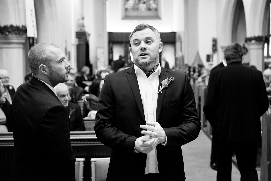 St Clements church wedding photographer - Leigh on sea 1