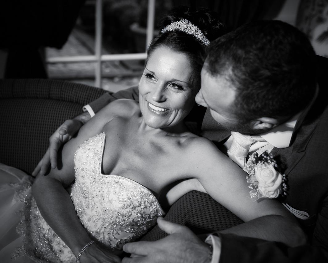 Friern Manor wedding photos - bride and groom