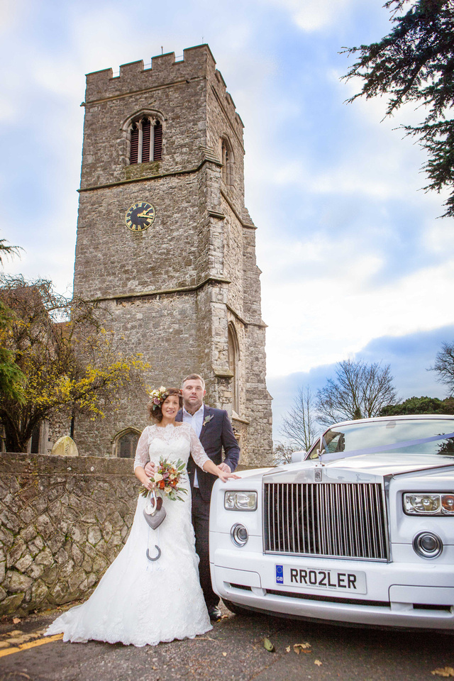 St Clements church wedding photographer - Leigh on sea. 6