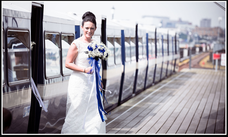 Southend on sea pier wedding