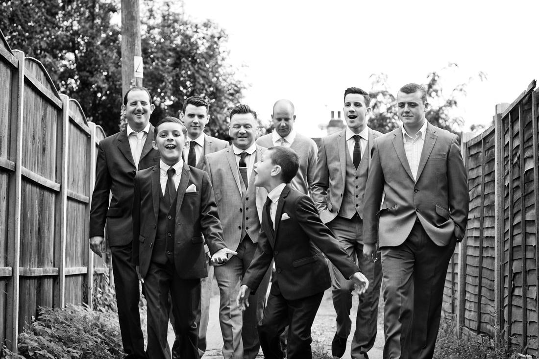 Reportage wedding photographers Essex | Groomsmen 44