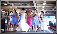 Southend pier wedding photos