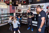 Sugar Ray Leonard Locker room gym-6677